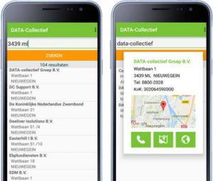 Datacollectief app
